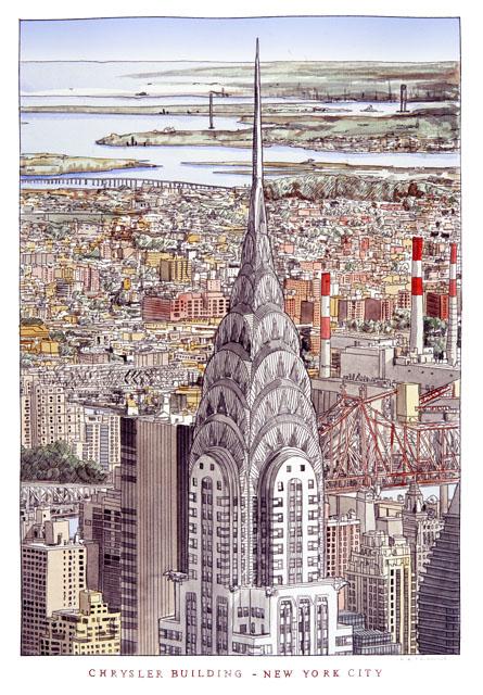 Chrysler Building New York Aerial Simon Fieldhouse1 New York