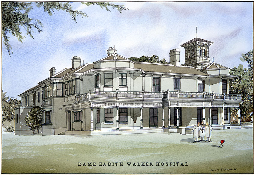 Dame Eadith Walker Hospital Simon Fieldhouse Hospitals
