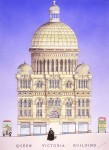 Queen Victoria Building end elevation Simon Fieldhouse 109x150 Sydney Architecture (City)