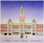 Flinders Street Station Clocktower Melbourne Simon Fieldhouse 1 150x145 Melbourne Architecture