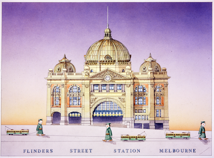 Flinders Street Station Melbourne Simon Fieldhouse 1 Melbourne Architecture