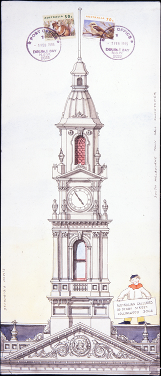 South Melbourne Town Hall Clocktower