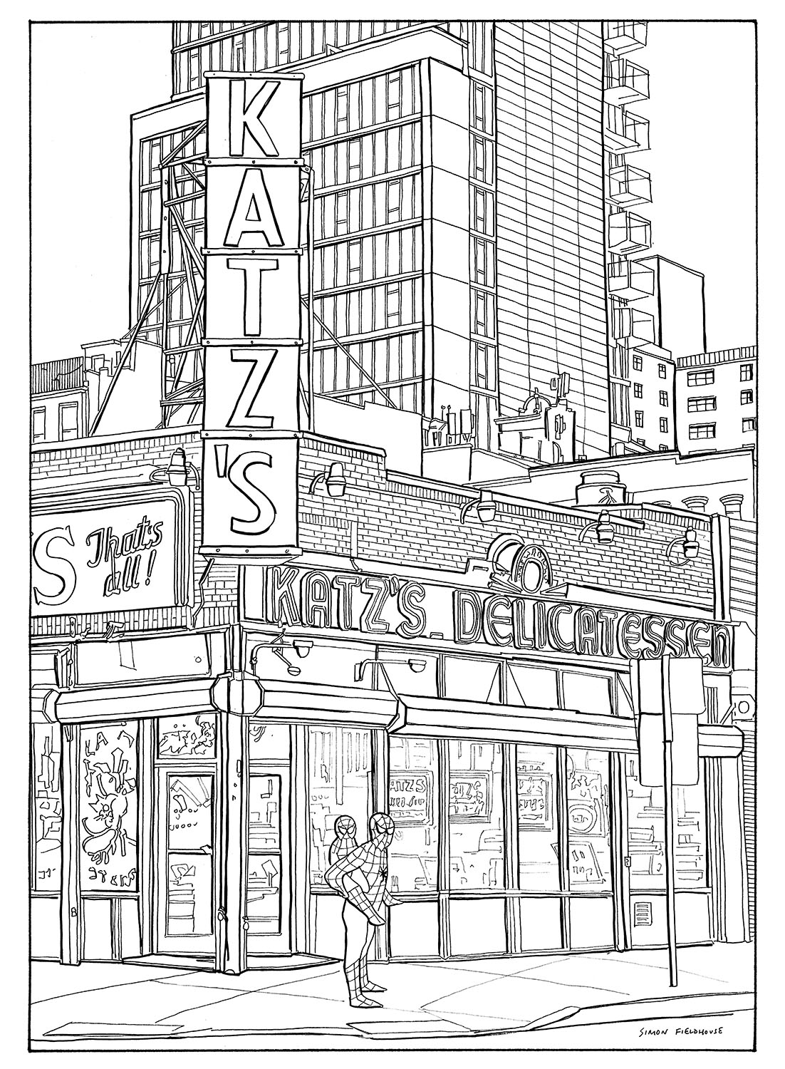Katz's Delicatessen - New York